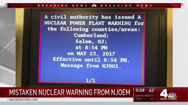 NJ Emergency Alert System Accidentally Activates, Sends Nuclear