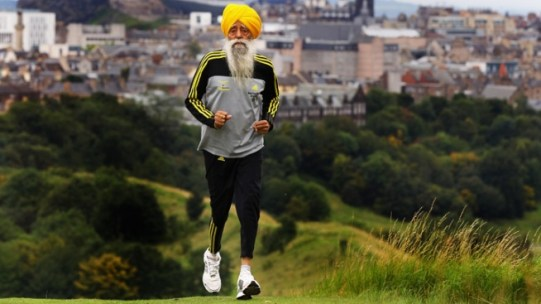 100-Year-Old Man Completes Marathon