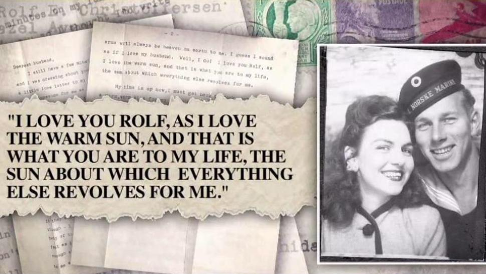 WWII Veteran United With Lost Love Letter From His Late Wife, Hidden - love letter