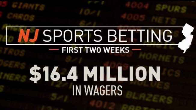 New Jersey Businesses Get $16M in Sports Bets in First 2 Weeks - NBC