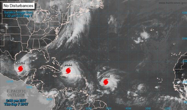 Glenn \u0027Hurricane\u0027 Schwartz\u0027s Blog Irma, Harvey  Climate Change