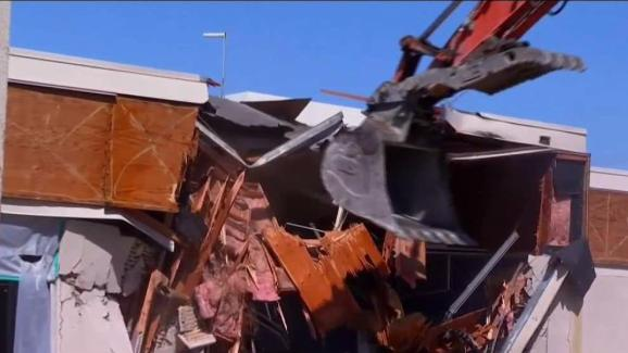Demolition at Valhalla HS Part of Modernization Plan - NBC 7 San Diego