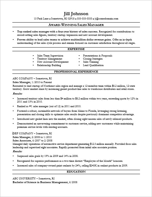 manager tools what your resume says professional resumes example