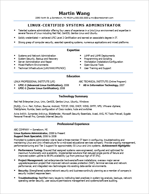pacs admin jobs sample resume for system administrator resume samples for system pacs administration sample resume