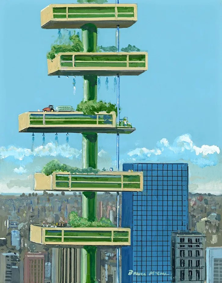 The Vertical Farm The New Yorker