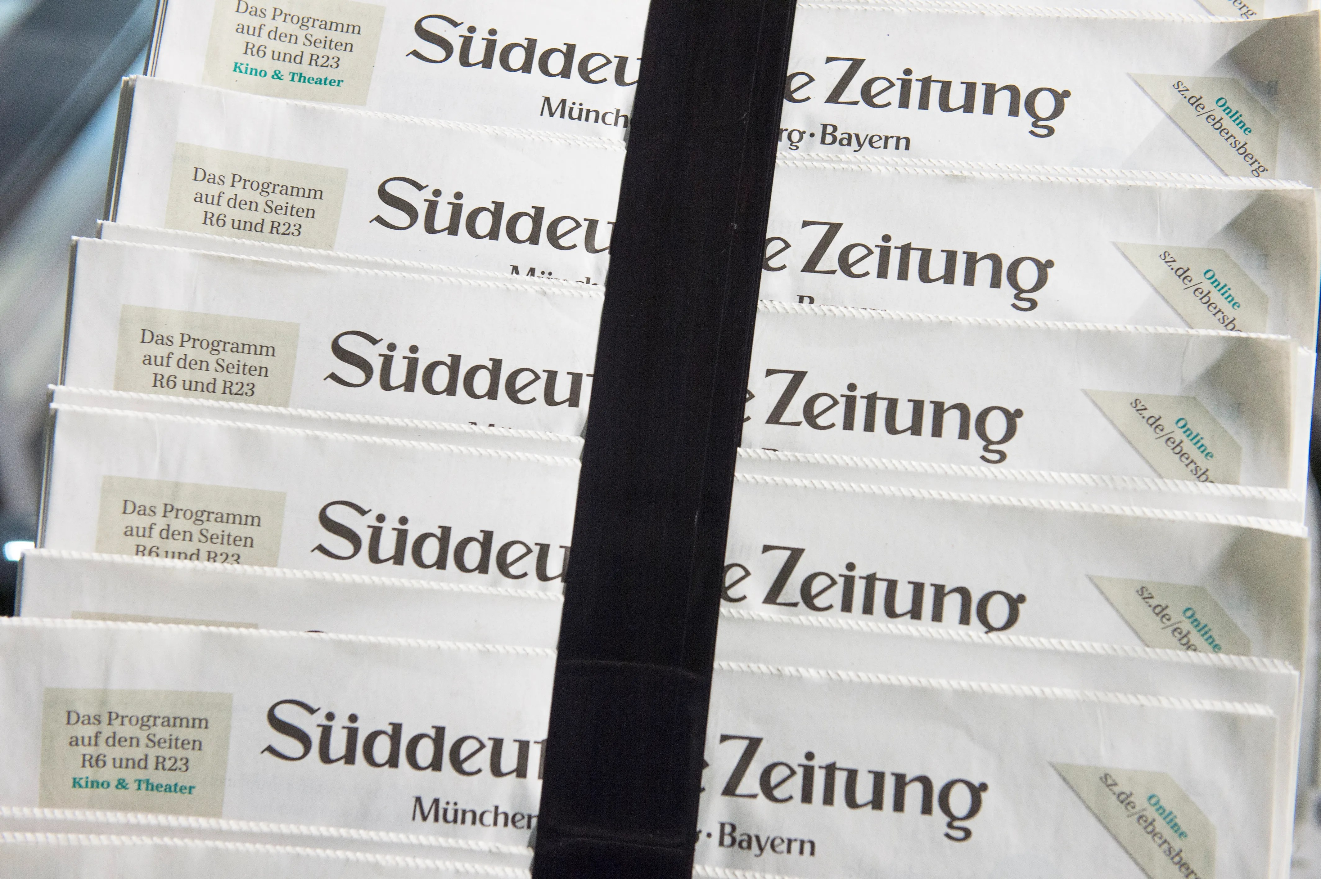 Süddeutsche Zeitung Shop How A German Newspaper Became The Go To Place For Leaks Like