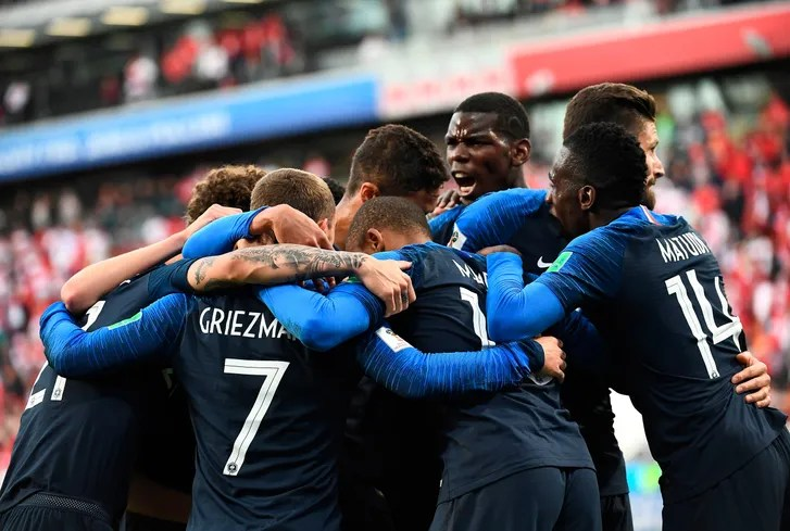 World Cup 2018 The Black and White and Brown Faces of Les Bleus