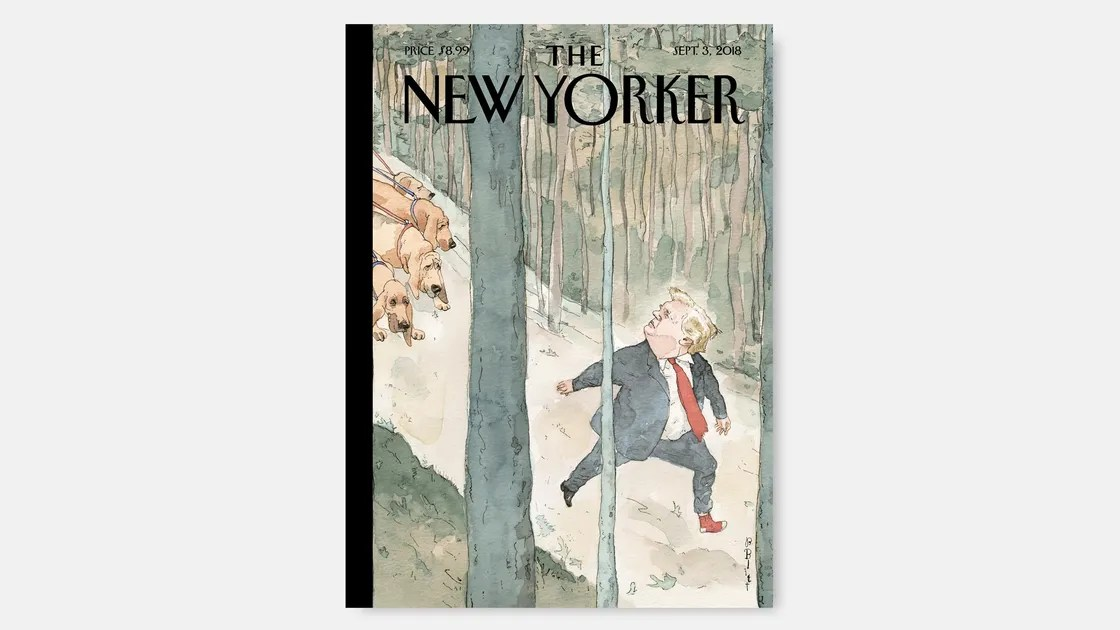 Barry Blitt\u0027s \u201cClosing In\u201d The New Yorker
