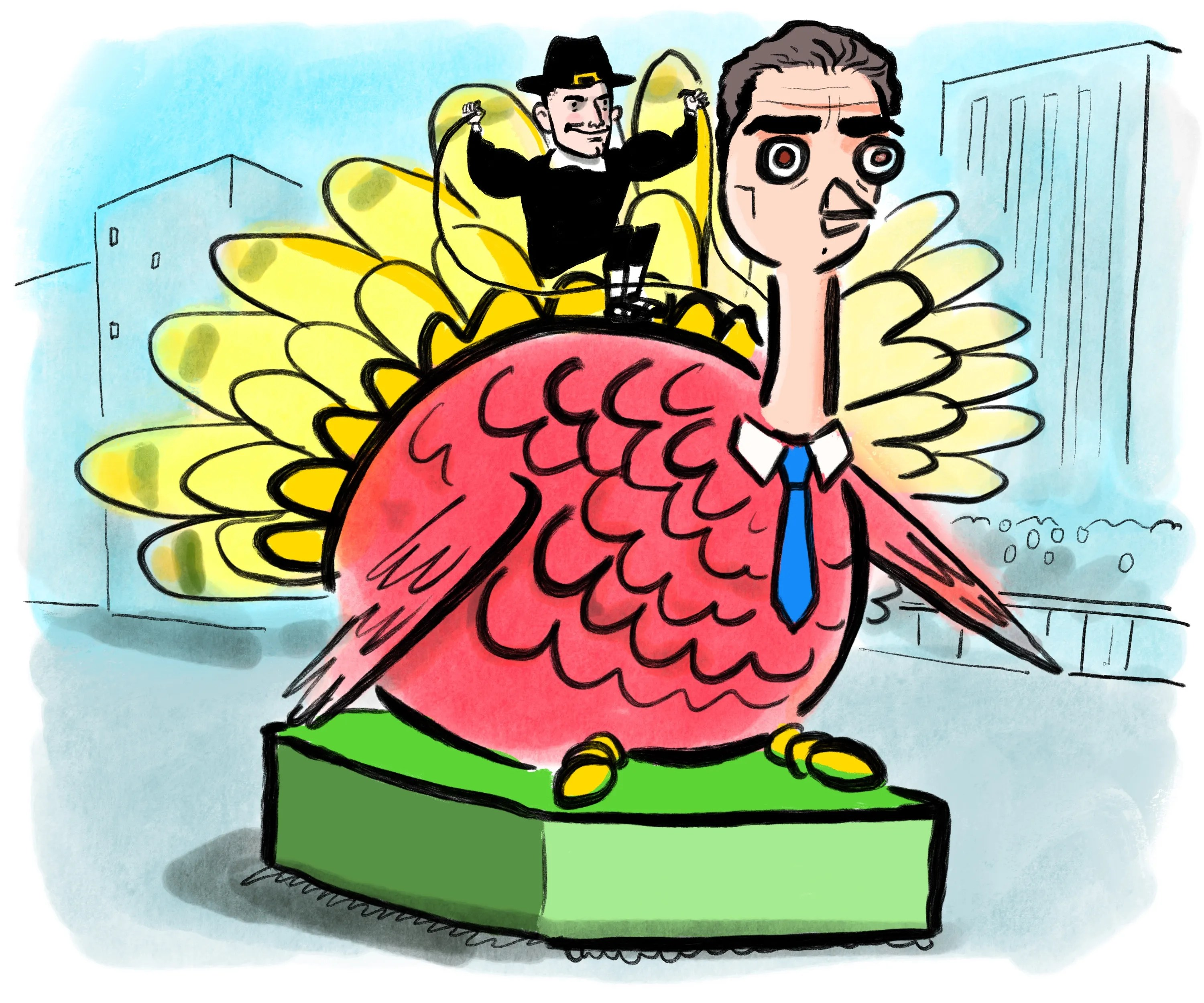 Amazon Turkey Amazon Thanksgiving Day Parade The New Yorker