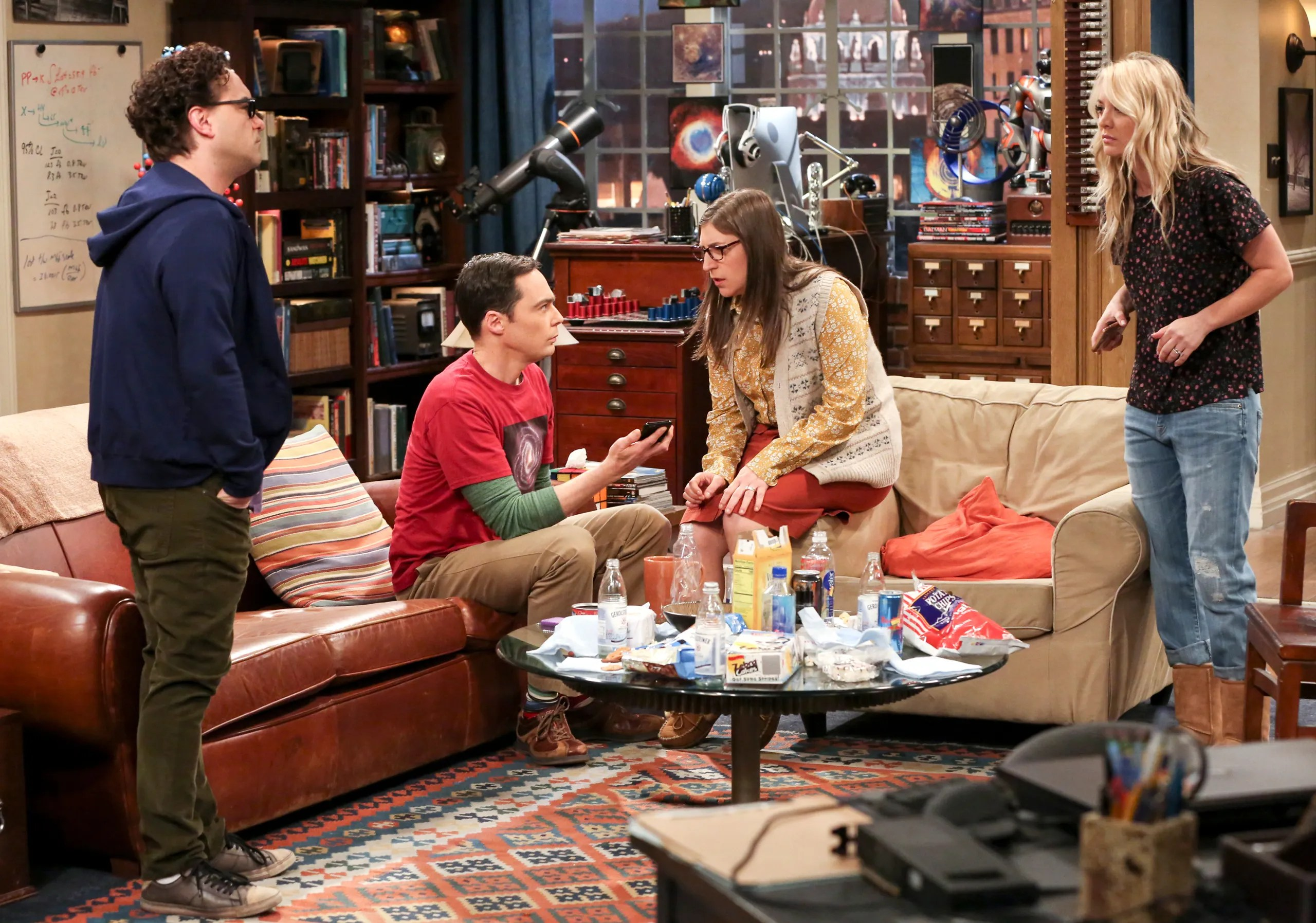 Big Bang Couch Gag How The Big Bang Theory Normalized Nerd Culture The New Yorker