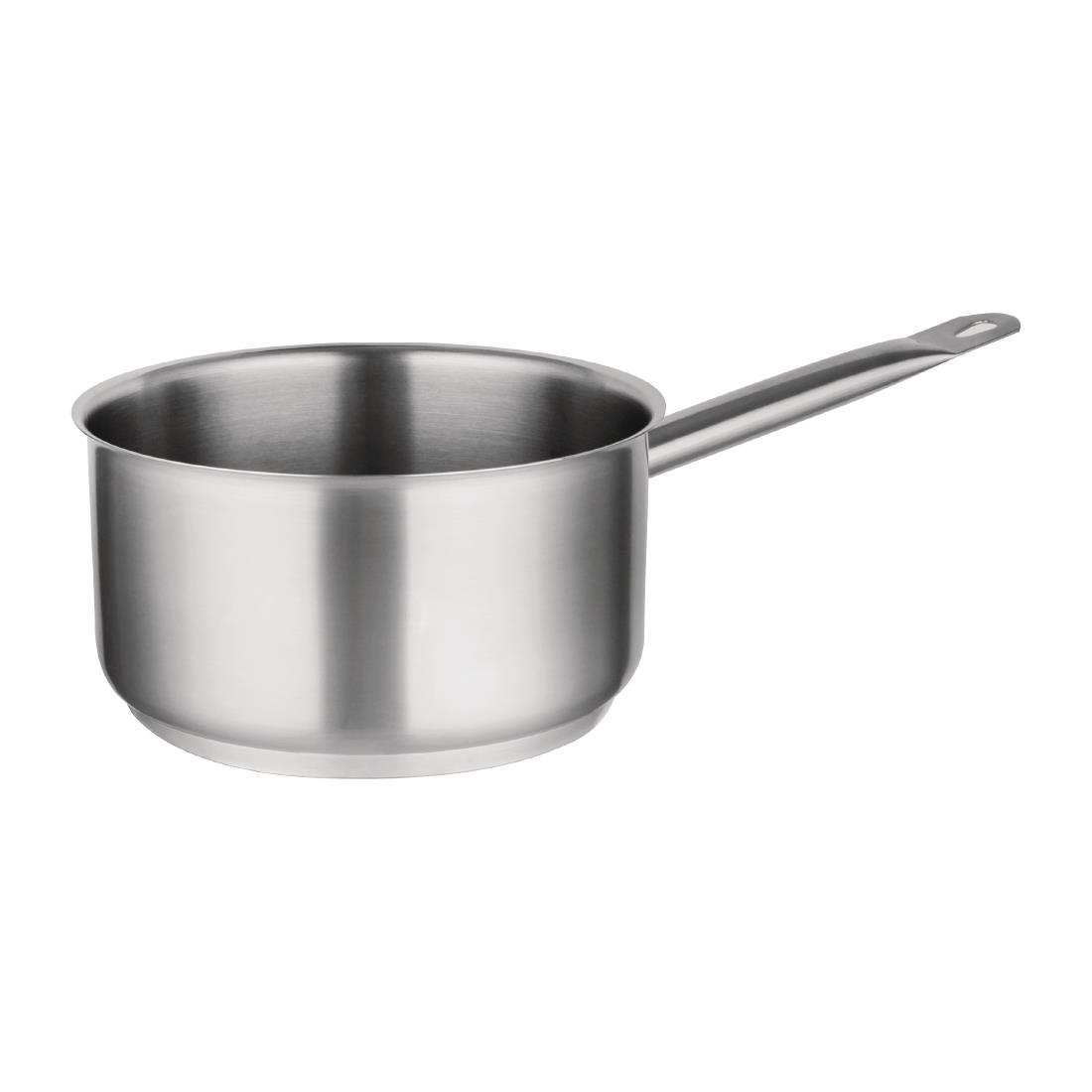 Saucepan Vogue Stainless Steel Saucepan Kitchenware Commercial