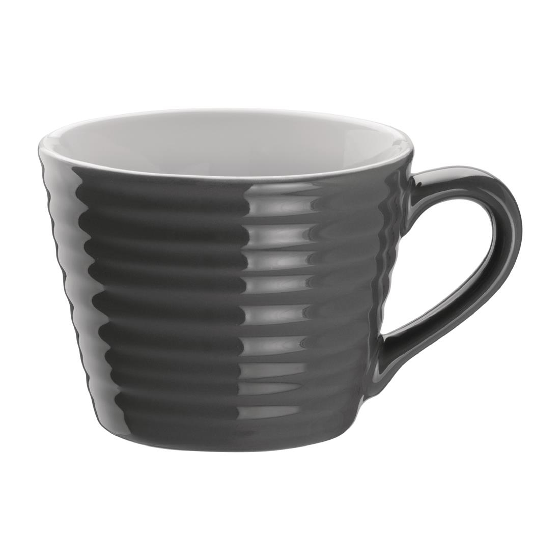 Mug A Cafe Olympia Café Aroma Mugs Charcoal 230ml