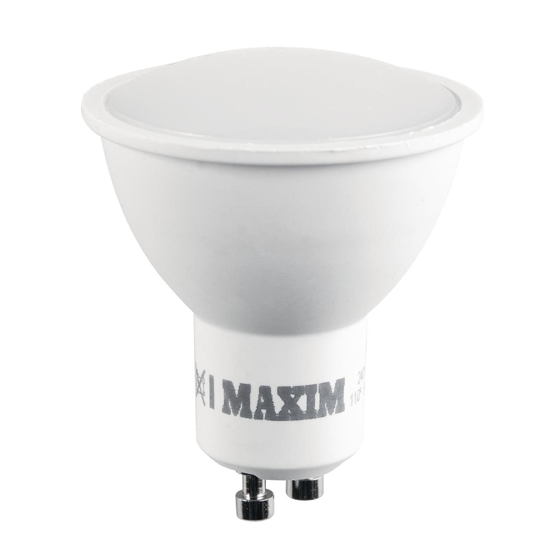 Led Gu10 5w Maxim Led Gu10 Pearl Daylight White 5w Pack Of 10