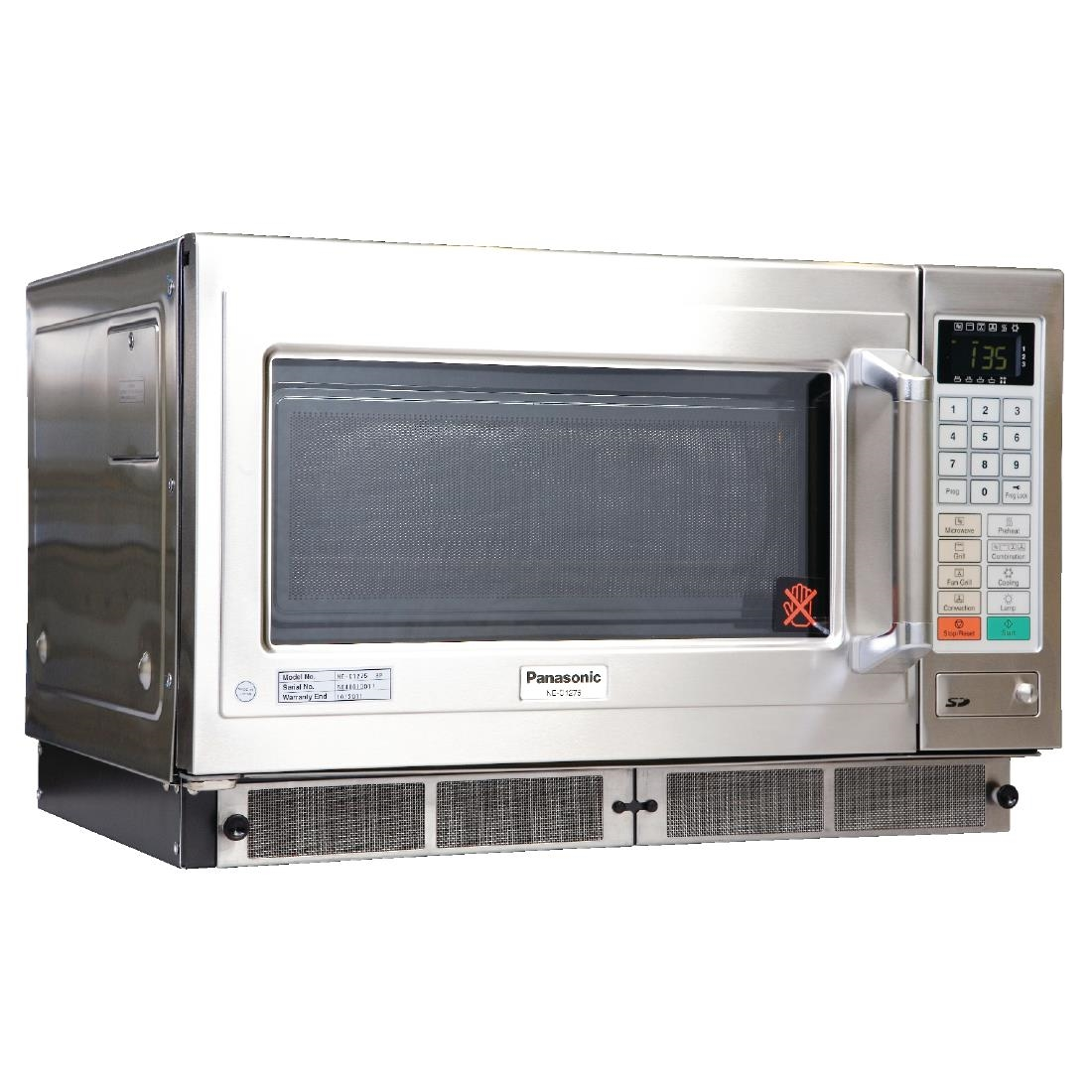 Combination Microwave Oven Panasonic 1800w Combination Microwave Grill Ne C1275