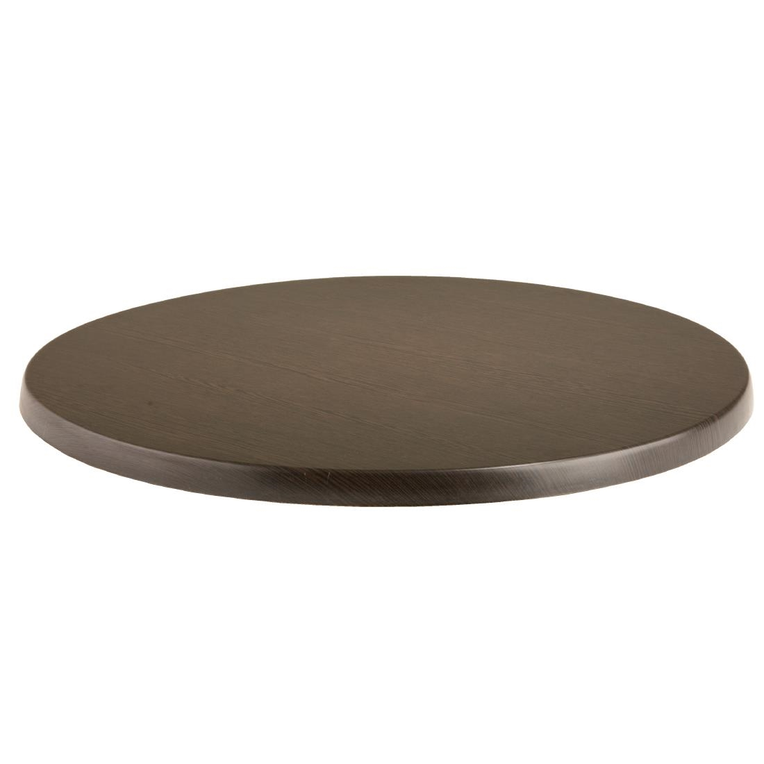 Round Table Tops Werzalit Pre Drilled Round Table Tops Wenge