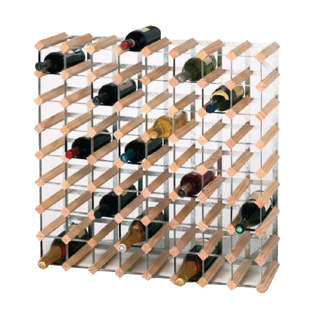 Wooden Bottle Rack Wine Rack Wooden 72 Bottle