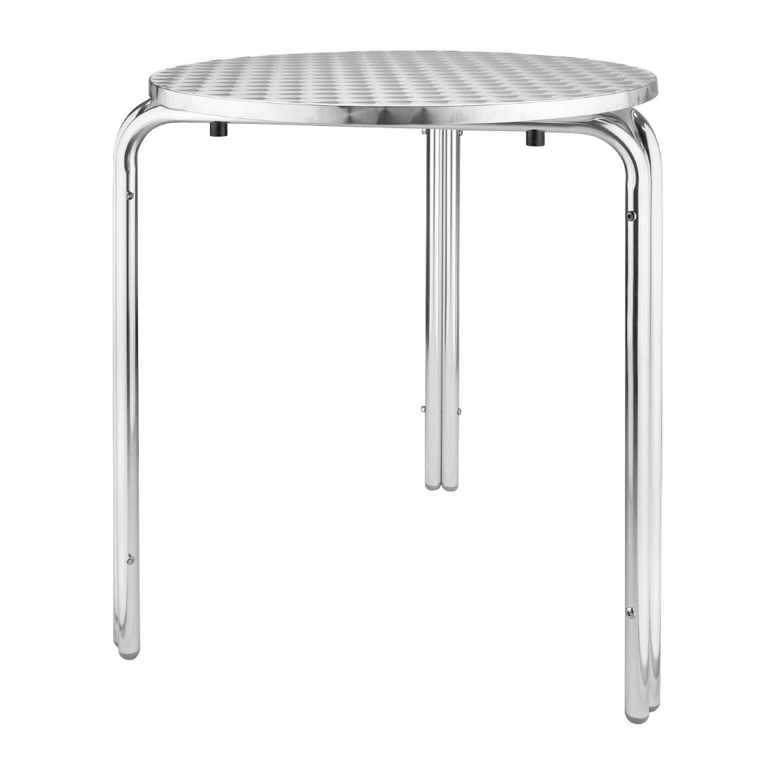 Table Bistrot Inox Table Bistro Ronde Empilable Bolero 600mm