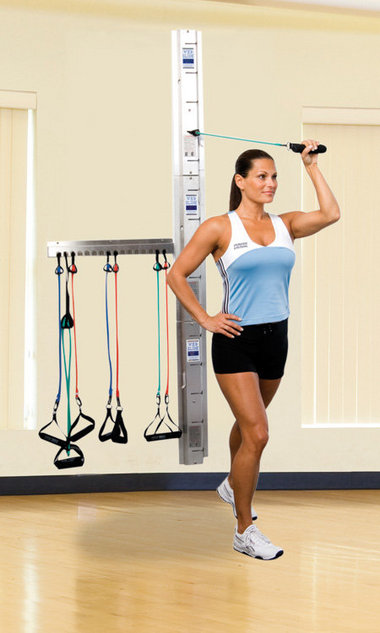 Web-Slide Exercise Rail system is one of the most versatile pieces