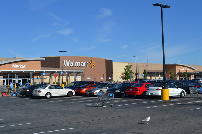 Man dies after being hit by car in Walmart parking lot, police say
