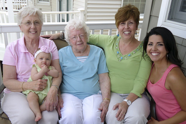 5 generations of family - Akbagreenw - 5 generations