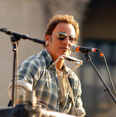 Bruce Springsteen Joins The Rally For Obama