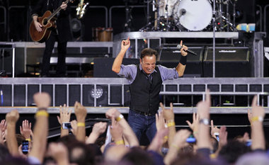 Bruce Springsteen & The E Street Band perform their second show at MetLife Stadium September 21, 2012