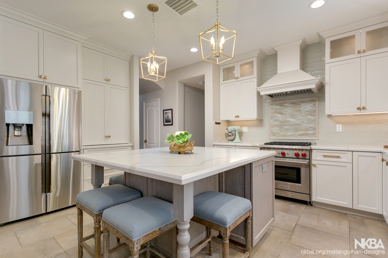 Gray Off White Kitchen Nkba