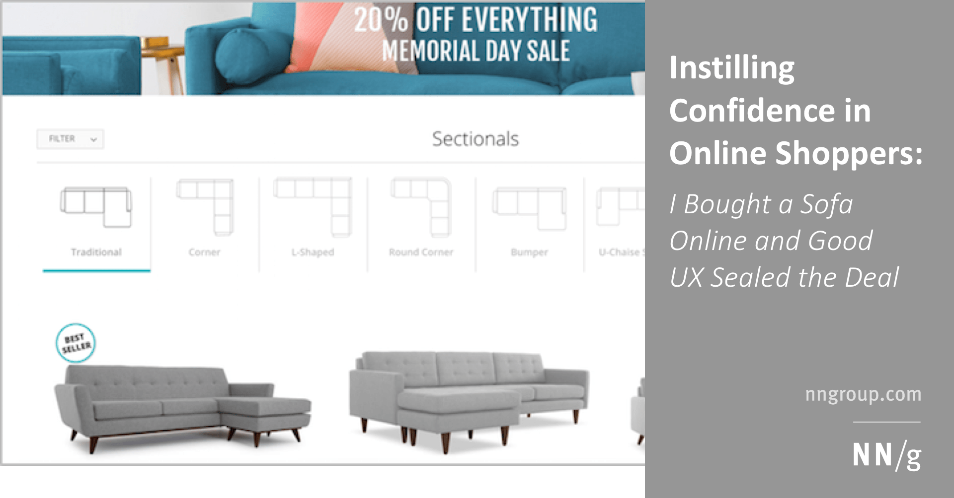 Sofa For Sale Online Instilling Confidence In Online Shoppers I Bought A Sofa Online