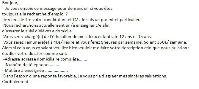 mettre une fausse experience cv