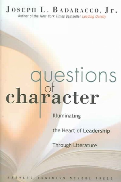 Questions of Character  NPR