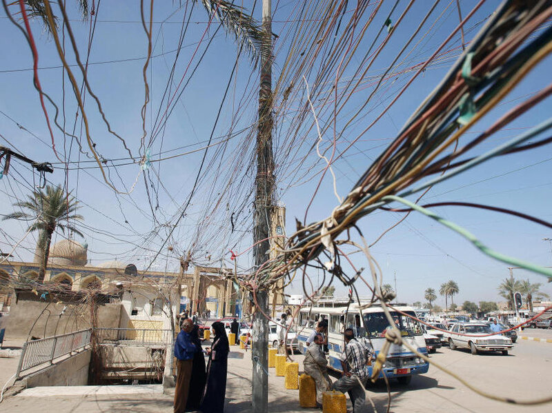 Iraq An Electrical Storm  The Two-Way  NPR