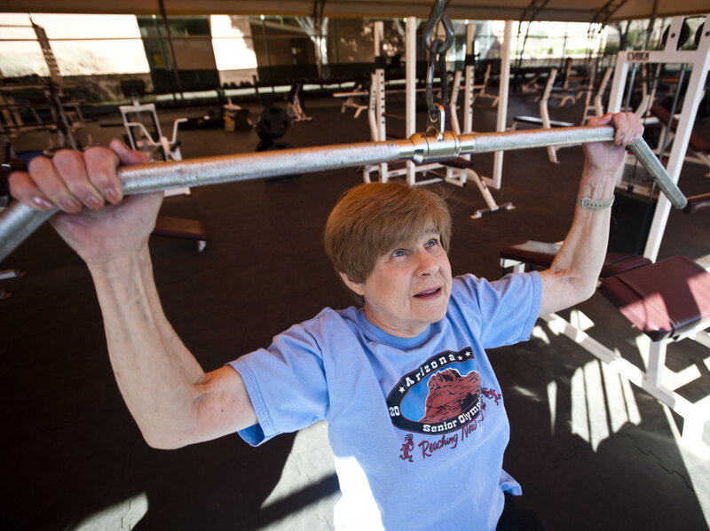 Seniors Can Still Bulk Up On Muscle By Pressing Iron  NPR