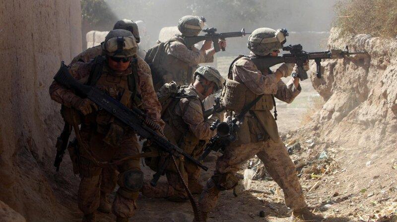 An Afghan Hell On Earth For \u0027Darkhorse\u0027 Marines  NPR