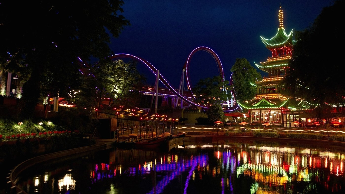 Tivoli Gardens Usa Tivoli Gardens Beckons On Denmark's Summer Nights : Npr
