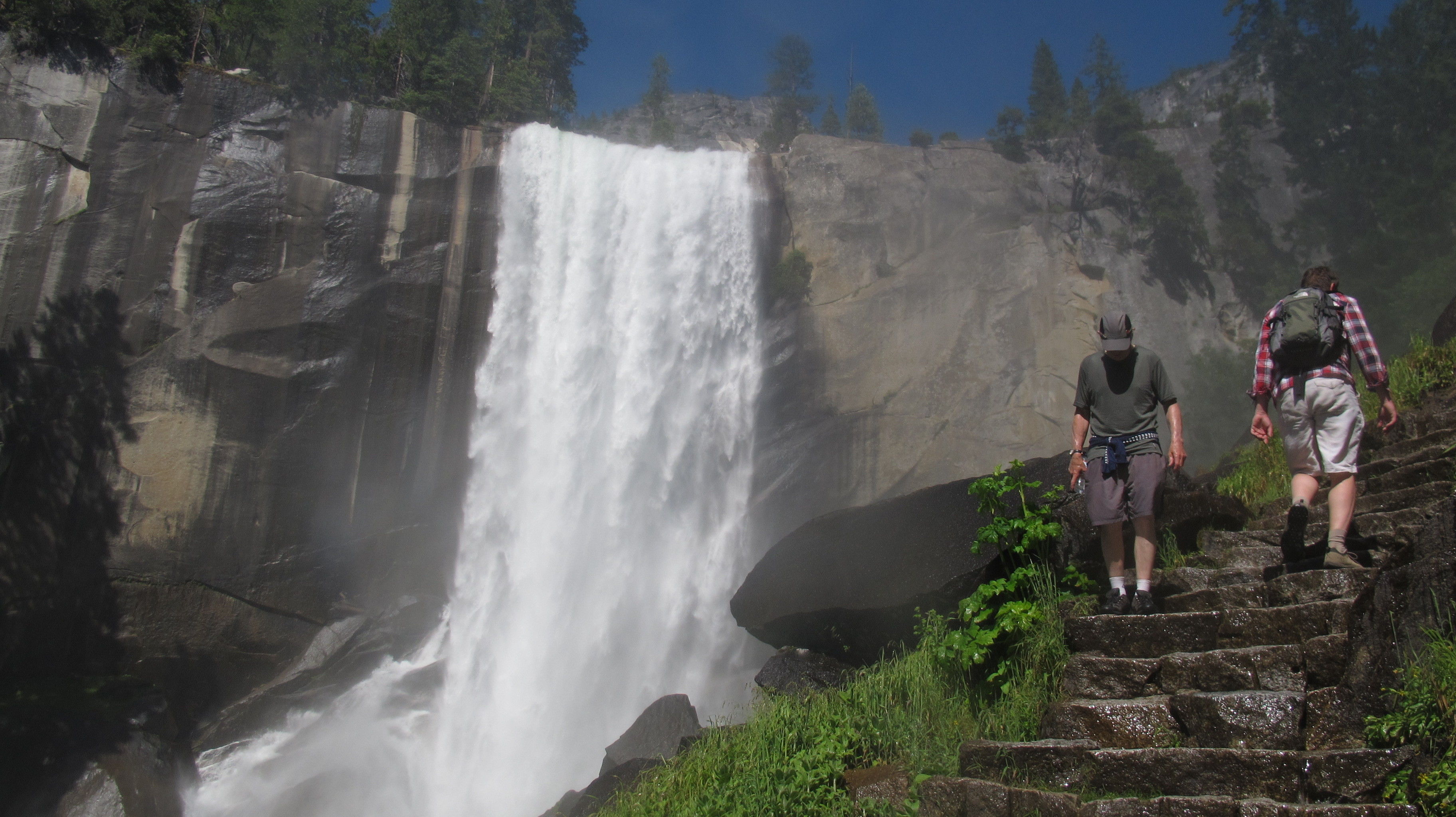 Upper Yosemite Falls Wallpaper Sequestered Spring Means Fewer Rangers Services At