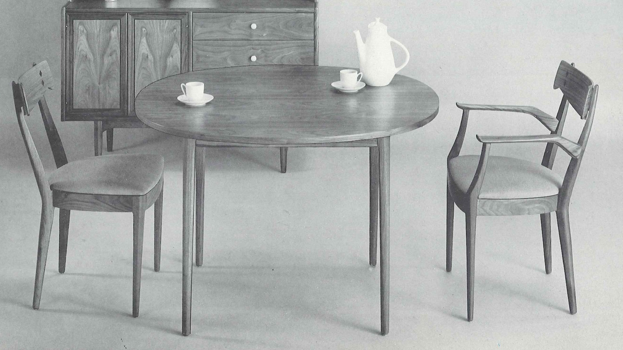 Modern Table And Chairs Midcentury Furniture Grandkid Nostalgia Modern Trend Npr
