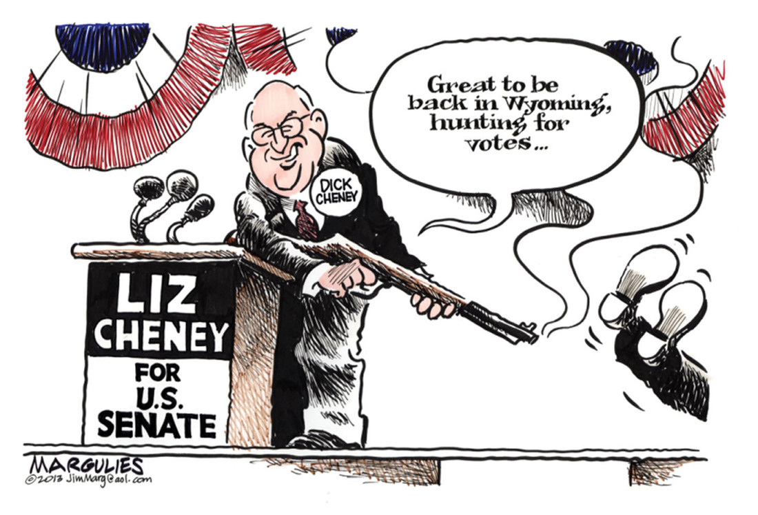 Double Take 39toons Senators Cheney And Palin Npr