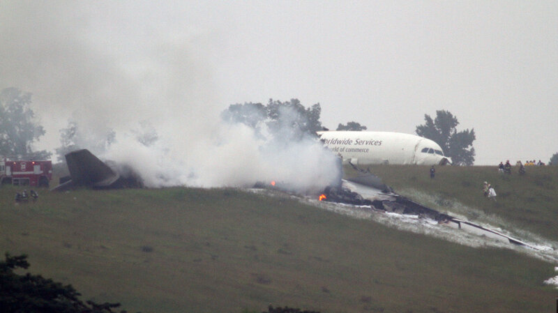 2 Killed When UPS Cargo Plane Crashes In Alabama  The Two-Way  NPR
