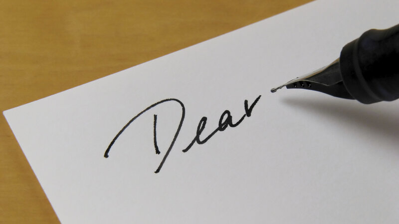 The Art Of Letter-Writing Isn\u0027t Lost On These Scribblers  NPR