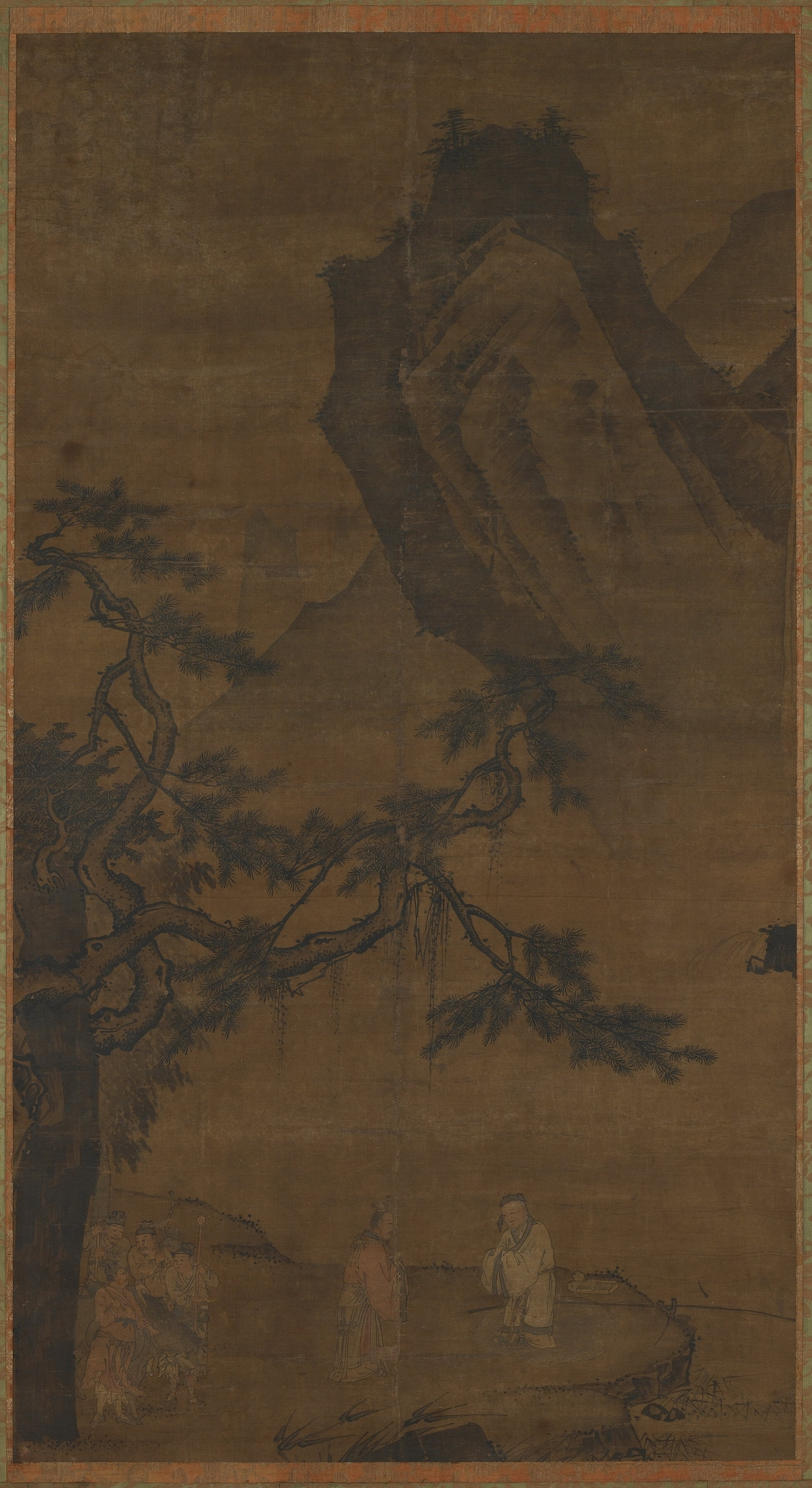 Lit Vertical Conserving Priceless Chinese Paintings Is An Art All Its