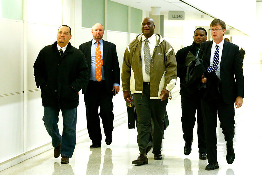5 NY Corrections Officers Convicted Of Assaulting Rikers Inmate - new york state correction officer