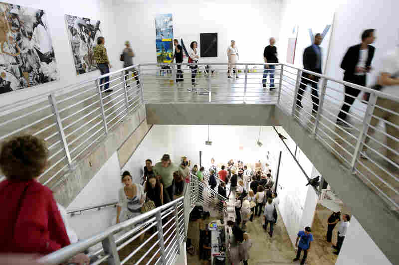 Mera and Don Rubell's Miami-based Rubell Family Collection is open to the public and actively loans works to other museums.