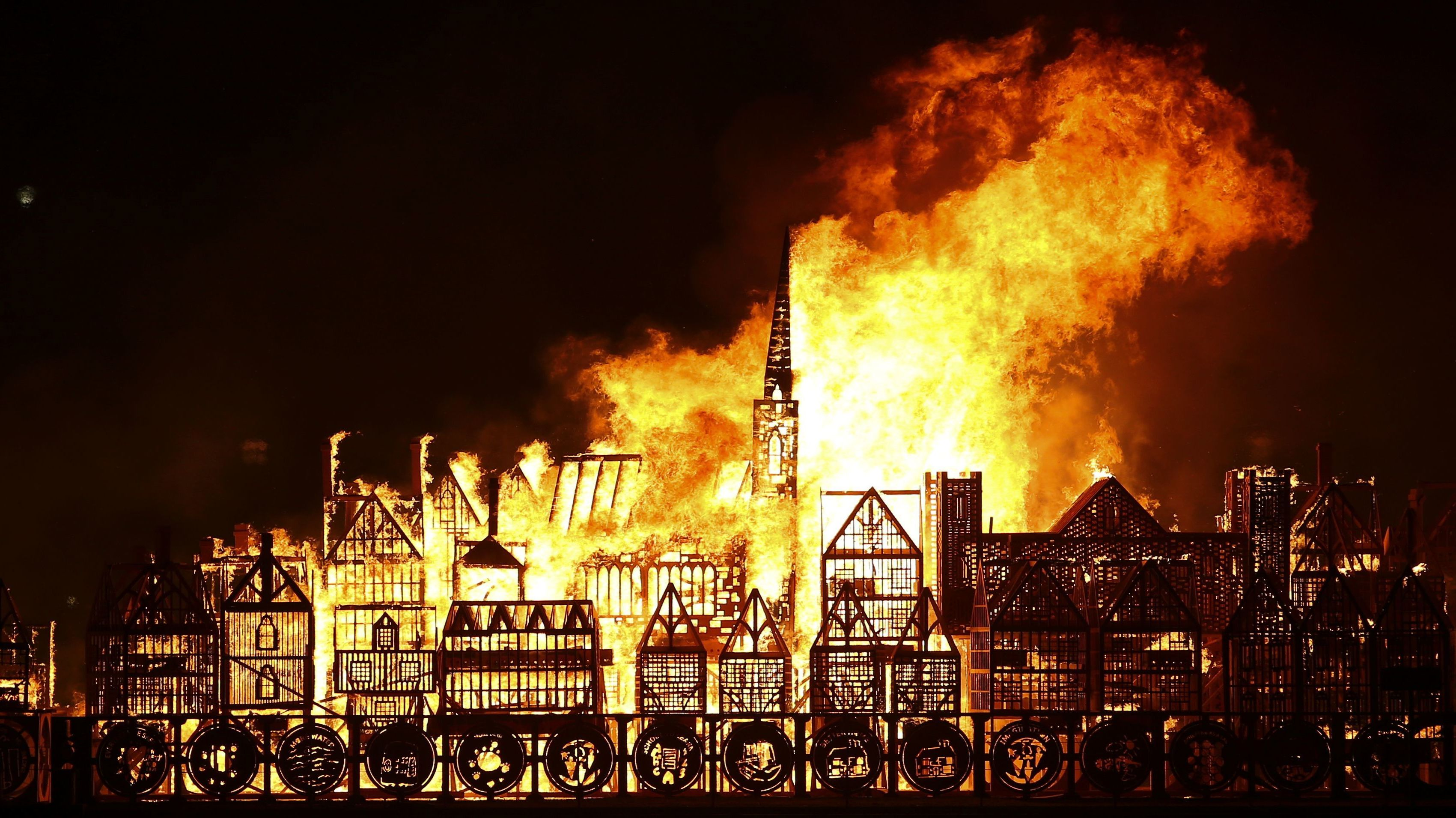 Great Fire Of London Remembered On 350th Anniversary The