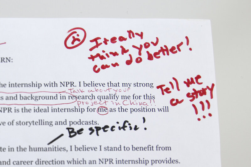 How To Get An Internship At NPR Ed  NPR Ed  NPR - internship cover letter
