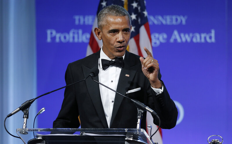 Obama Receives Profile In Courage Award, Speaks Out About Health
