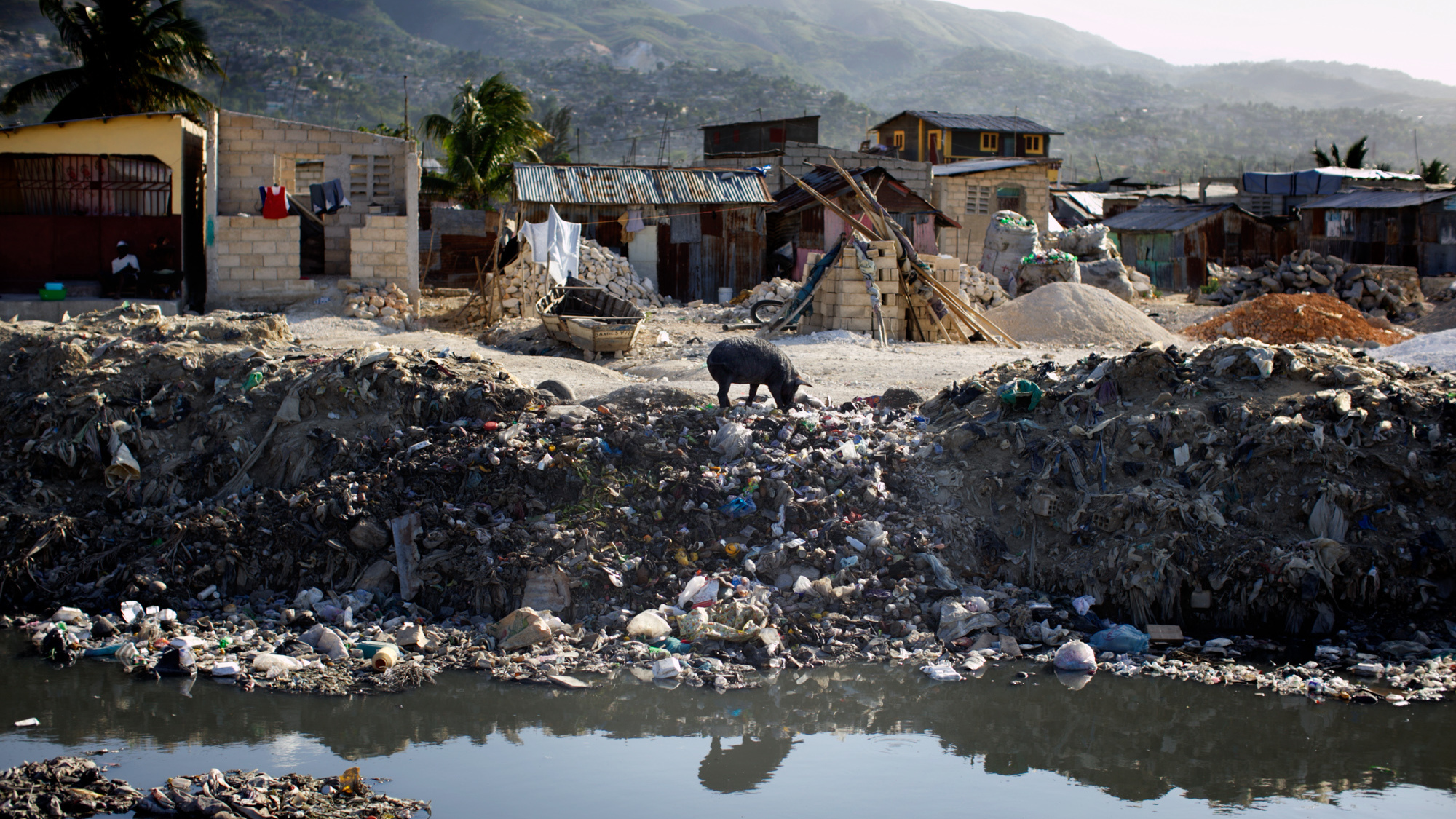 Sewage Cleaner Haiti Millions Spent On Sewage Systems And Still Nowhere To Go