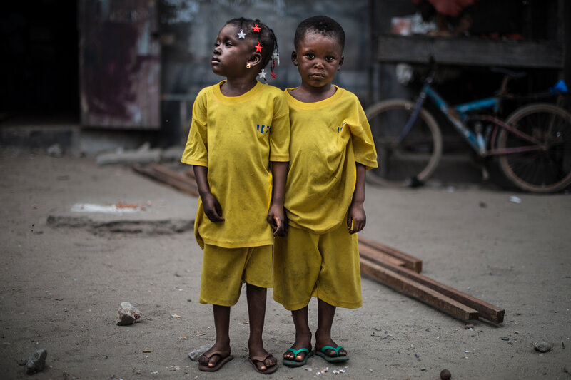 PHOTOS The Twins Of Abidjan Are Thought To Have Spiritual Powers - make a wish mission statement