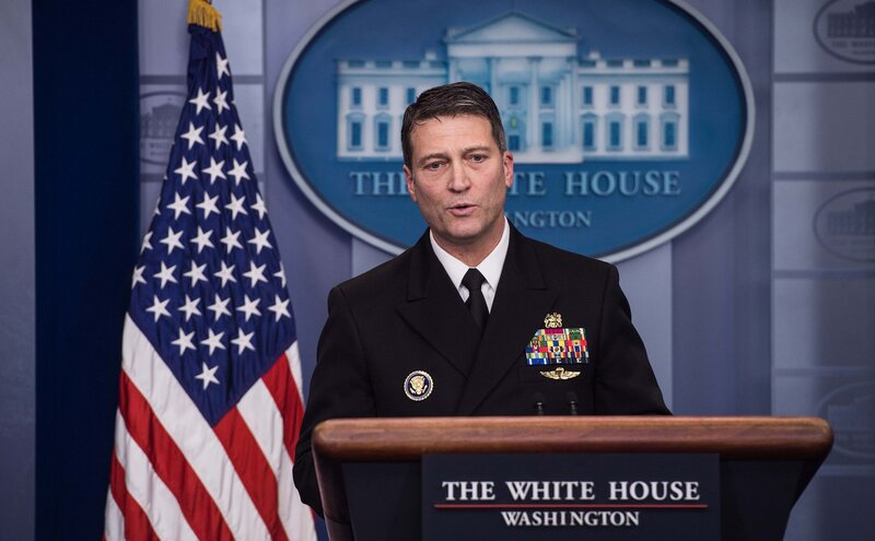 Ronny Jackson Veterans Affairs Nominee Who Oversaw Trump\u0027s Physical