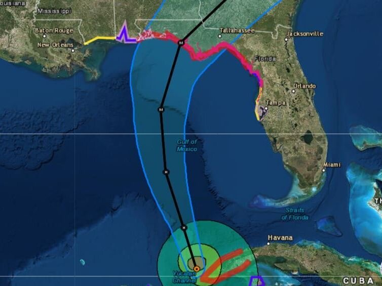 Hurricane Michael Forecast To Hit US Gulf Coast As A Major Storm