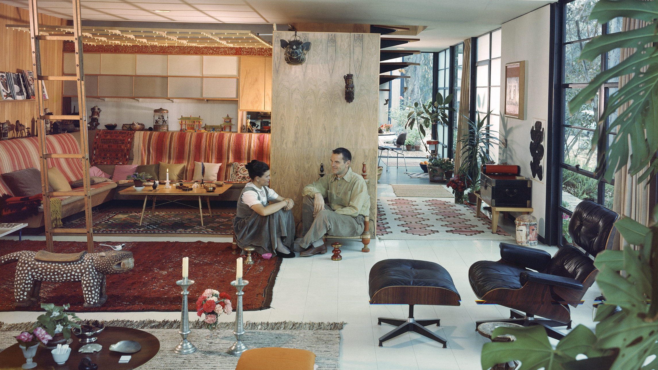 Ray And Charles Eames Charles And Ray Eames Made Life Better By Design Their